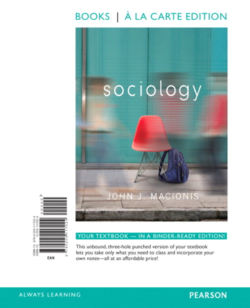 Sociology, Books a la Carte Edition, 14th Edition