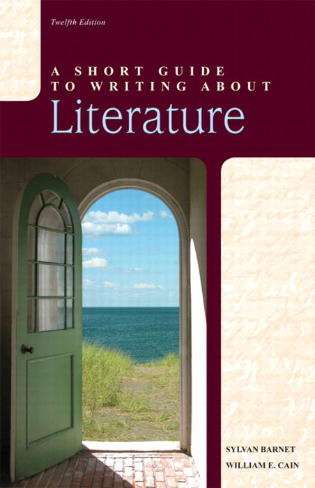 Short Guide to Writing about Literature, A, CourseSmart eTextbook, 12th Edition