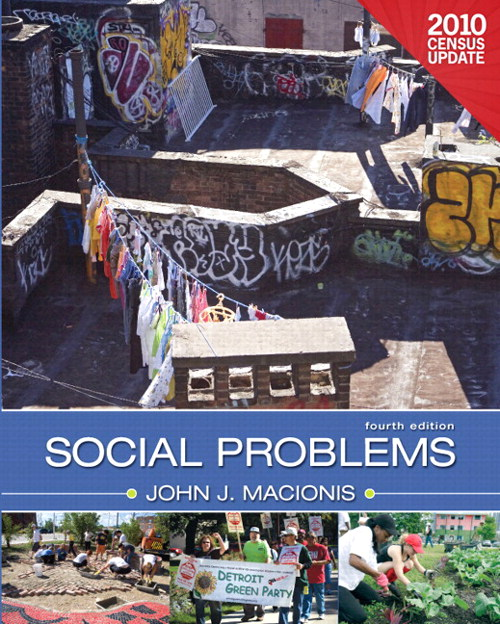 Social Problems, Census Update, Books a la Carte Plus MySocLab with eText -- Access Card Package, 4th Edition