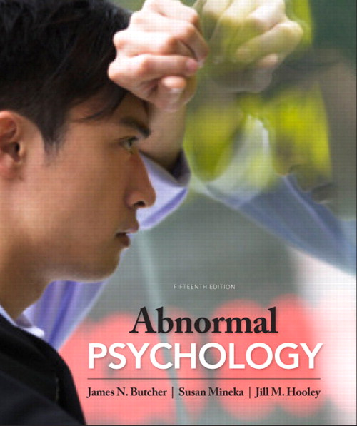 Abnormal Psychology, CourseSmart eTextbook, 15th Edition