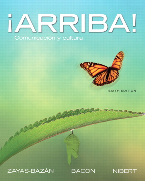 ¡Arriba!: Comunicación y cultura, CourseSmart eTextbook, 6th Edition