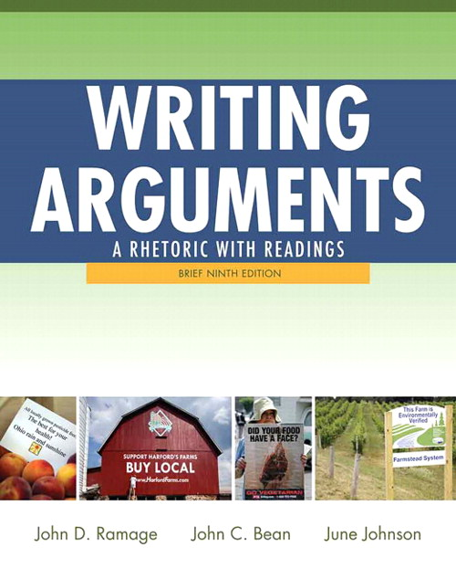 Writing Arguments: Rhetoric with Readings, Brief Edition, CourseSmart eTextbook, 9th Edition