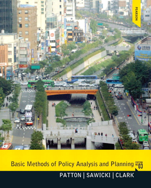 Basic Methods of Policy Analysis and Planning, CourseSmart eTextbook, 3rd Edition