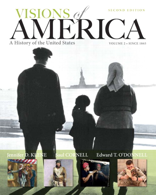 Visions of America: A History of the United States, Volume Two, CourseSmart eTextbook, 2nd Edition