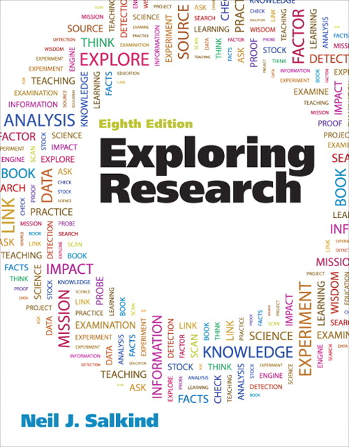 Exploring Research, CourseSmart eTextbook, 8th Edition