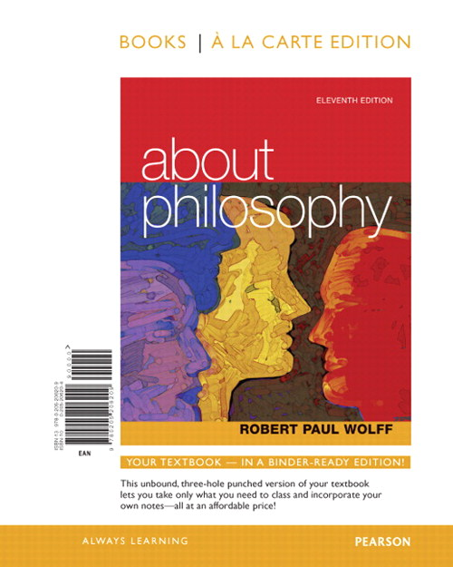 About Philosophy, Books a la Carte Edition, 11th Edition