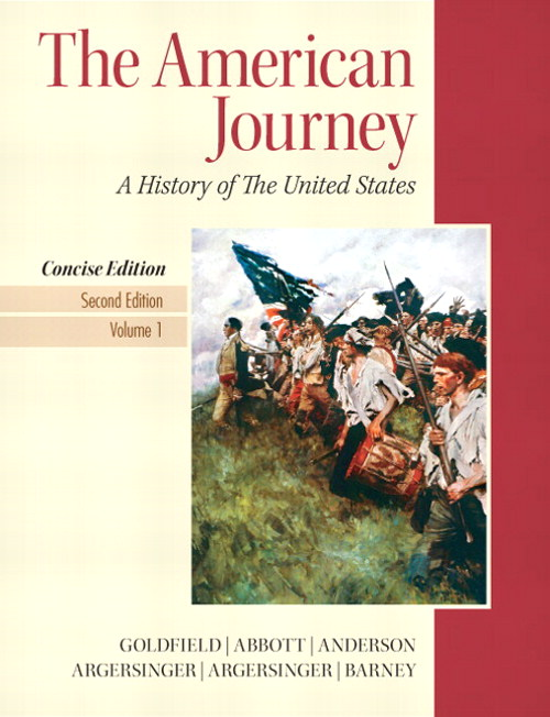 American Journey, The, Concise Edition,  Volume 1, 2nd Edition