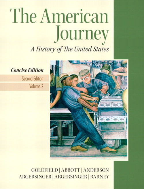 American Journey, The, Concise Edition, Volume 2, 2nd Edition