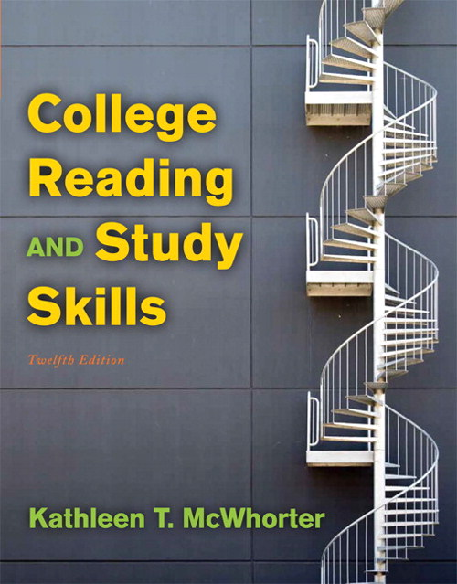 College Reading and Study Skills, CourseSmart eTextbook, 12th Edition