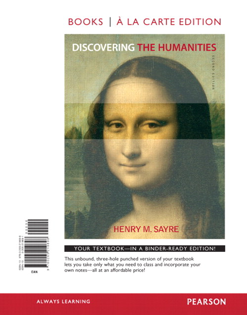 Discovering the Humanities, Books a la Carte Edition, 2nd Edition