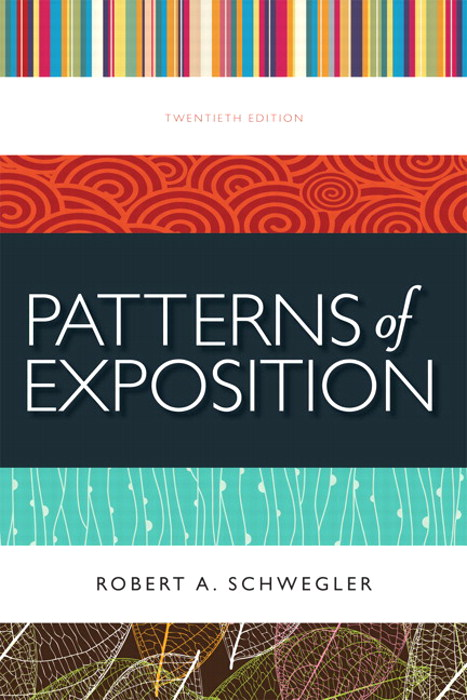 Patterns of Exposition, 20th Edition