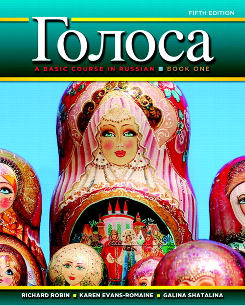 Golosa: A Basic Course in Russian,  Book One, CourseSmart eTextbook, 5th Edition