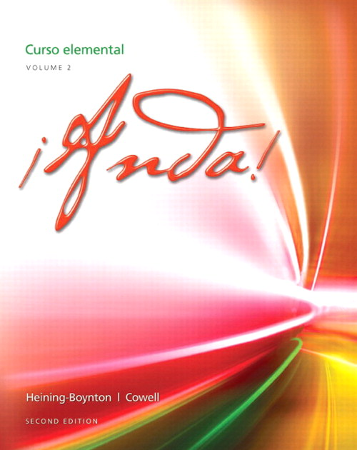 ¡Anda! Curso elemental, Volume 2, 2nd Edition