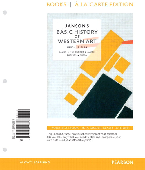 Janson's Basic of History of Western Art, Books a la Carte Edition, 9th Edition