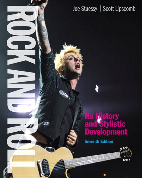 Rock and Roll: Its History and Stylistic Development, CourseSmart eTextbook, 7th Edition