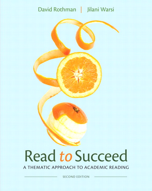Read to Succeed: A Thematic Approach to Academic Reading, CourseSmart eTextbook, 2nd Edition