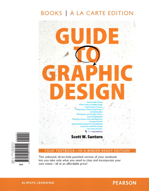 Guide to Graphic Design, Books a la Carte Edition