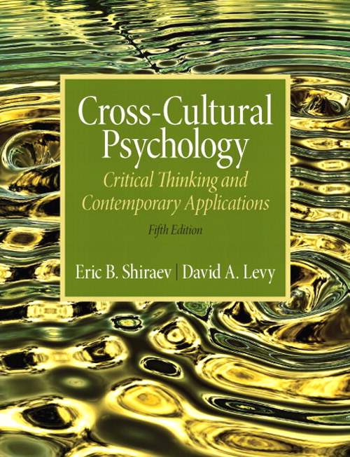Cross-Cultural Psychology: Critical Thinking and Contemporary Applications, CourseSmart eTextbook, 5th Edition