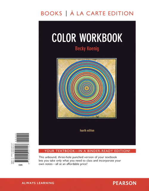 Color Workbook, Books a la Carte Edition, 4th Edition