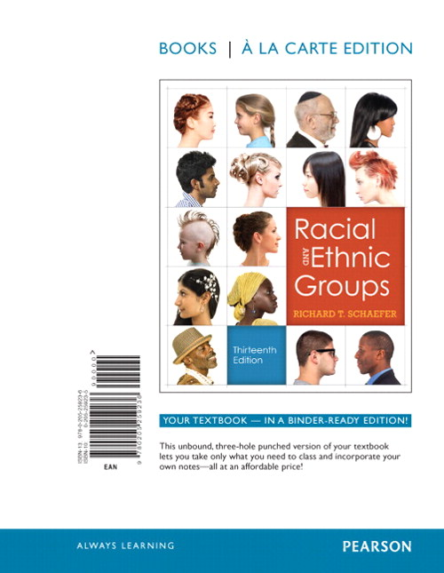 Racial and Ethnic Groups, Books a la Carte Edition, 13th Edition