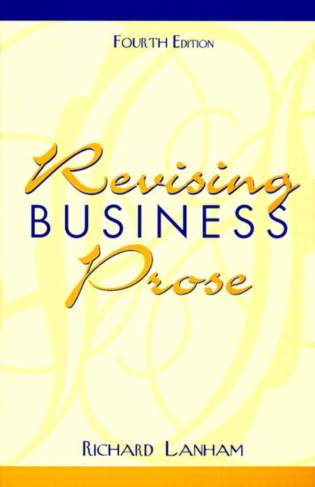 Revising Business Prose, 4th Edition