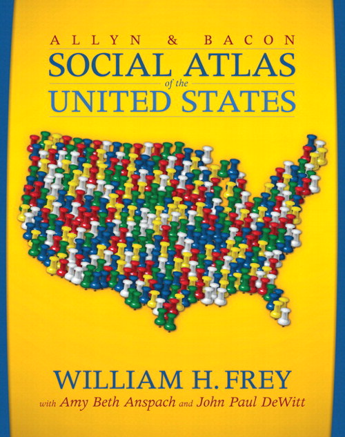 Allyn & Bacon Social Atlas of the United States, The, CourseSmart eTextbook