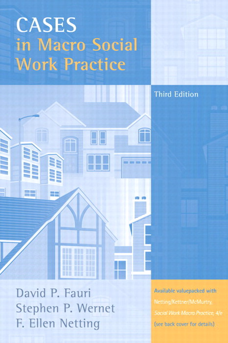 Cases in Macro Social Work Practice, CourseSmart eTextbook, 3rd Edition