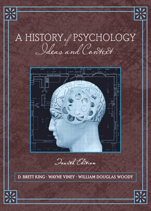 History of Psychology, A: Ideas and Context, CourseSmart eTextbook, 4th Edition