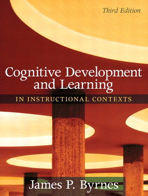 Cognitive Development and Learning in Instructional Contexts, CourseSmart eTextbook, 3rd Edition