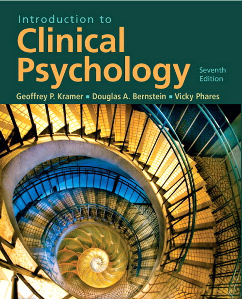 Introduction to Clinical Psychology, CourseSmart eTextbook, 7th Edition