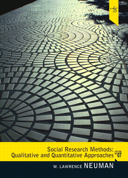 Social Research Methods: Quantitative and Quantitative Approaches, CourseSmart eTextbook, 7th Edition