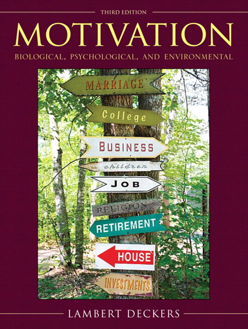 Motivation: Biological, Psychological, and Environmental, CourseSmart eTextbook, 3rd Edition