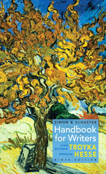 Simon & Schuster Handbook for Writers, CourseSmart eTextbook, 9th Edition