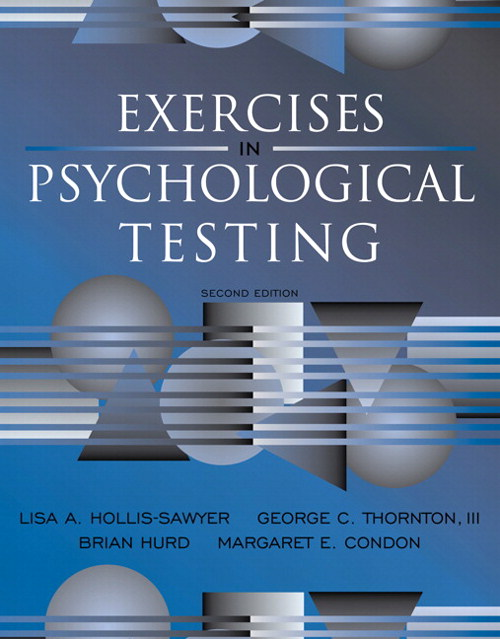 Exercises in Psychological Testing, CourseSmart eTextbook, 2nd Edition