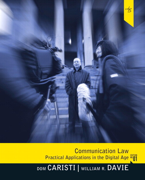 Communication Law, CourseSmart eTextbook
