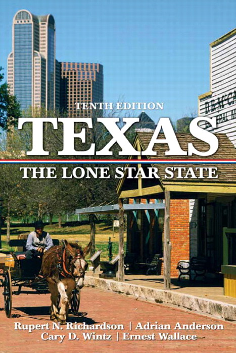 Texas: The Lone Star State, CourseSmart eTextbook, 10th Edition