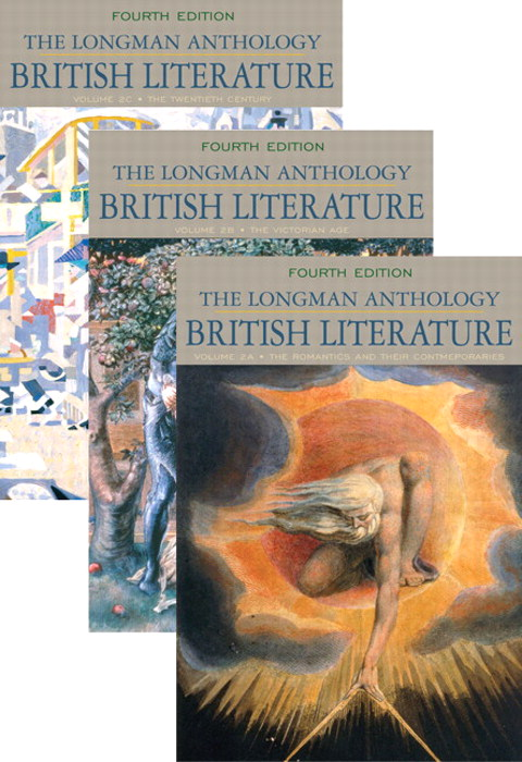 Longman Anthology of British Literature, Volumes 2A, 2B, and 2C, The, 4th Edition