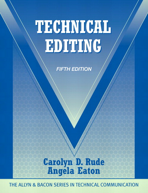 Technical Editing, CourseSmart eTextbook, 5th Edition
