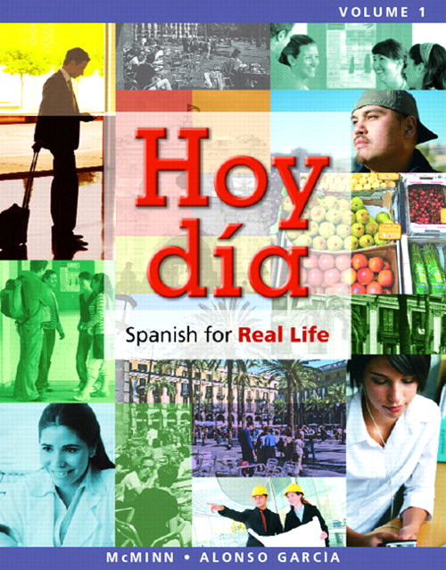 Hoy día: Spanish for Real Life, Volumes 1 and 2, CourseSmart eTextbook