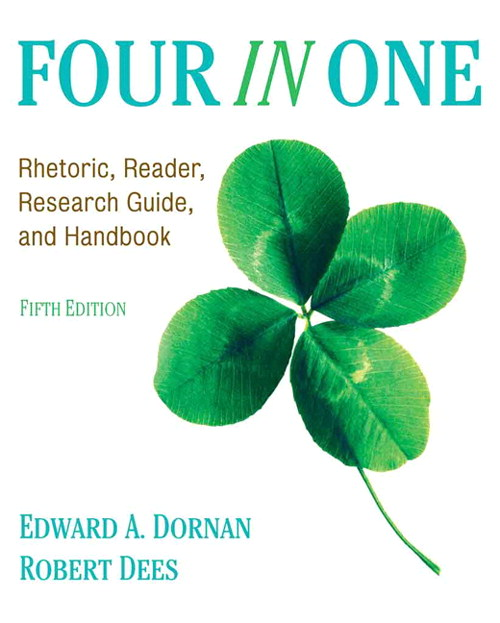 Four In One: Rhetoric, Reader, Research Guide, and Handbook, 5th Edition