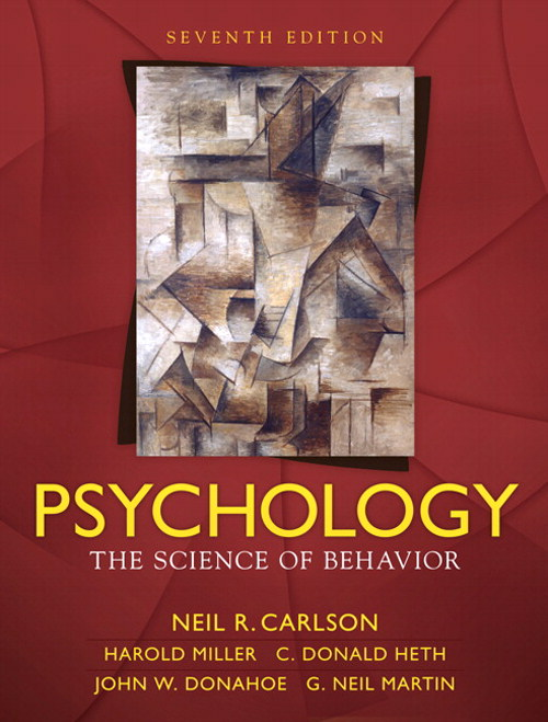 Psychology: Science of Behavior, CourseSmart eTextbook, 7th Edition