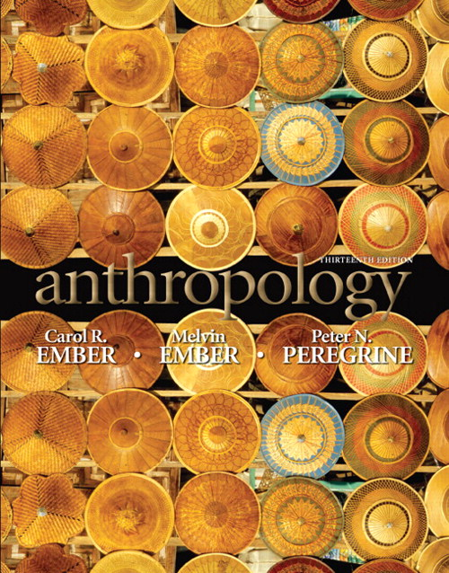 Anthropology, CourseSmart eTextbook, 13th Edition