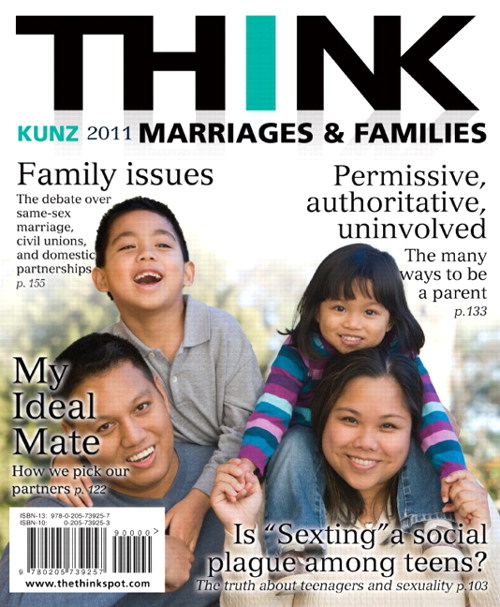 THINK Marriages and Families, CourseSmart eTextbook