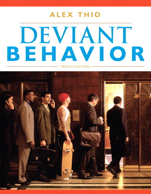 Deviant Behavior, CourseSmart eTextbook, 10th Edition