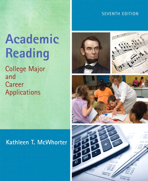 Academic Reading: College Major and Career Applications, CourseSmart eTextbook, 7th Edition