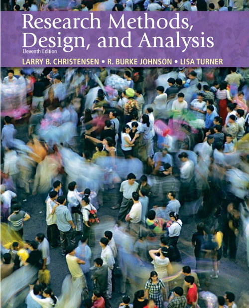 Research Methods, Design, and Analysis, CourseSmart eTextbook
