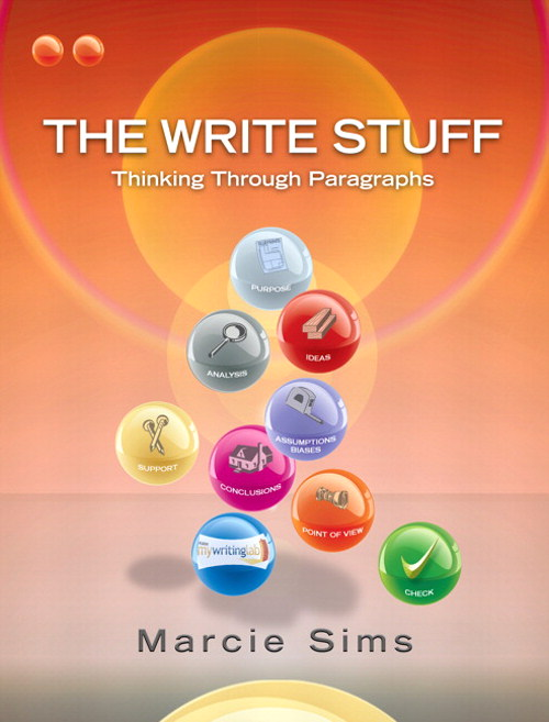 The Write Stuff: Paragraphs, CourseSmart eTextbook