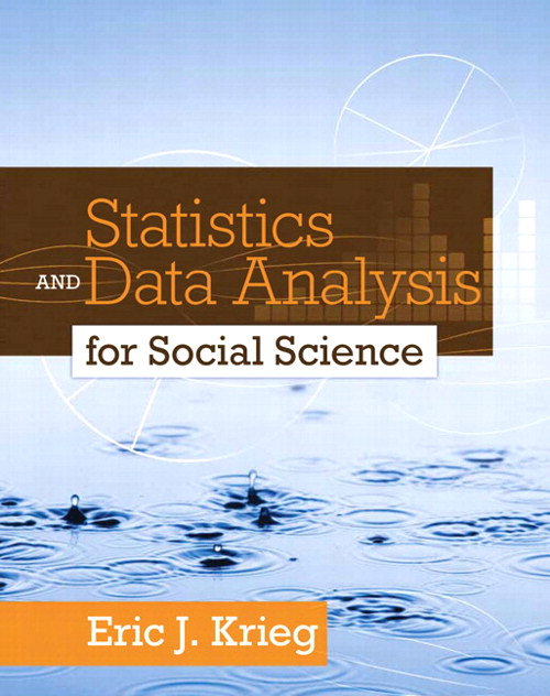 Statistics and Data Analysis for Social Science, CourseSmart eTextbook