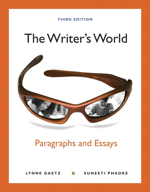 Writer's World, The: Paragraphs and Essays, CourseSmart eTextbook, 3rd Edition