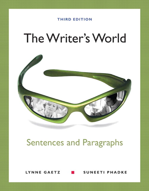 Writer's World, The: Sentences and Paragraphs, CourseSmart eTextbook, 3rd Edition